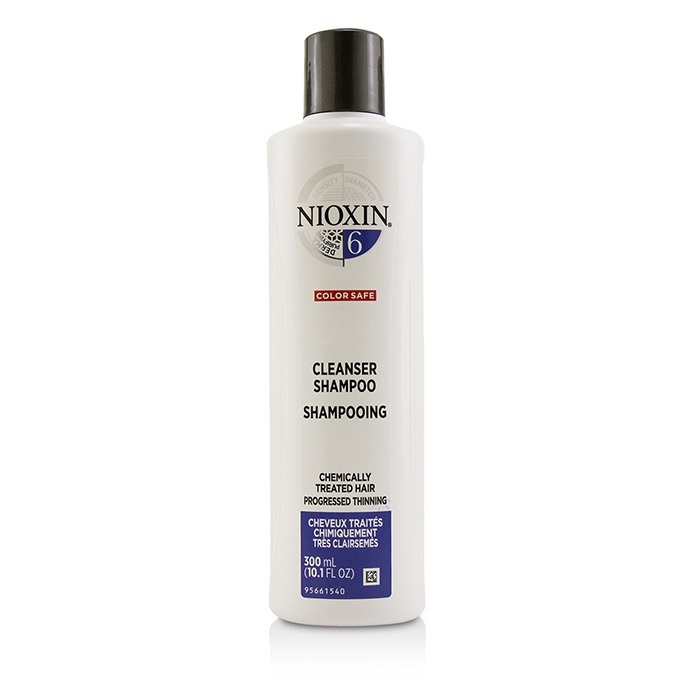 Nioxin Derma Purifying System 6 Cleanser Shampoo (Chemically Treated Hair, Progressed Thinning, Color Safe)