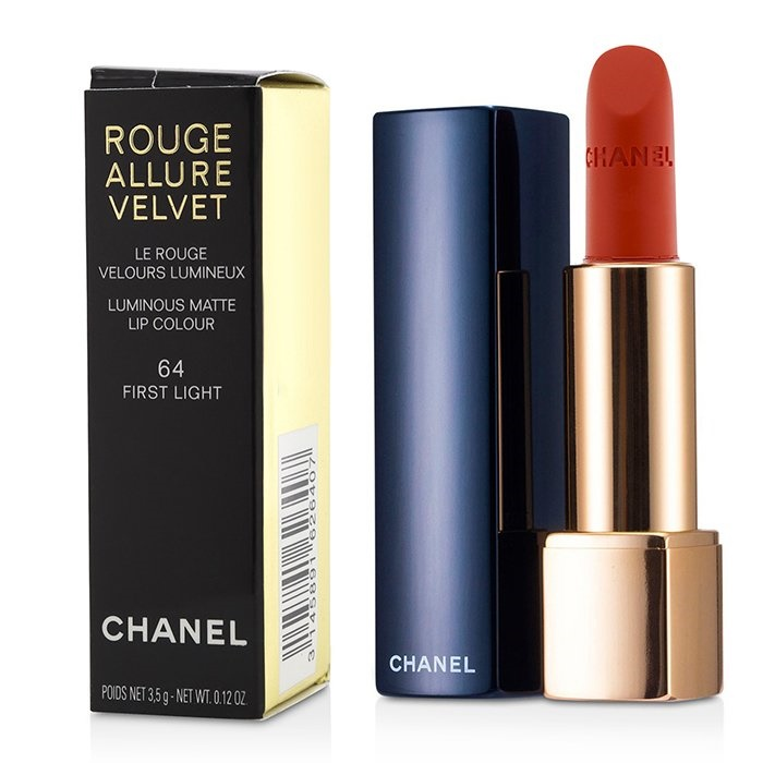 Chanel Rouge Allure Velvet - # 64 Frist Light