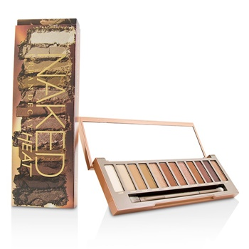 Urban Decay Naked Heat Palette: 12x Eyeshadow, 1x Doubled Ended Blending / Detailed Crease Brush