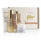 BareMinerals Glow To-Go Started Kit (Normal to Dry Skin): Pure Plush 50g+Skinlongevity 30ml+Brilliant Future 9.5m