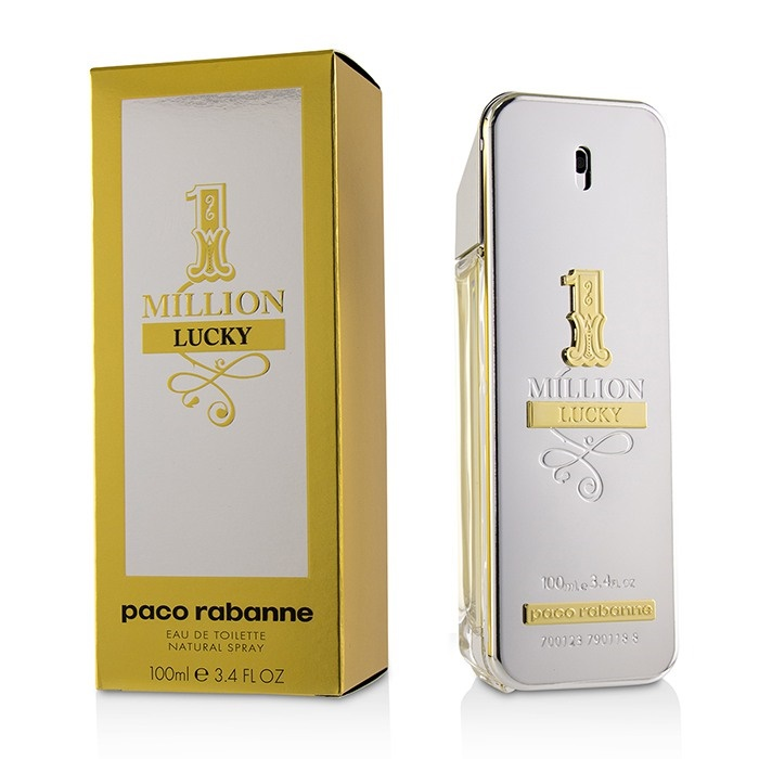 c0c5acb8db Details about NEW Paco Rabanne One Million Lucky EDT Spray 100ml Perfume