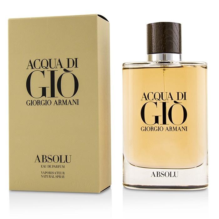 Giorgio Armani Acqua Di Gio Absolu Edp Spray 125ml Mens Perfume