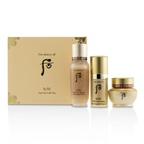 Whoo (The History Of Whoo) Bichup Royal Anti-Aging Trial Set: 1x First Care Moisture Anti-Aging Essence, 1x Self-Generating Anti-Aging Essence, 1x Cream