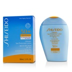 Shiseido Ultimate Sun Protection Lotion WetForce For Face & Body SPF 50+ - For Sensitive Skin & Children