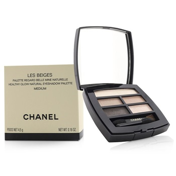 Chanel Les Beiges Healthy Glow Natural Eyeshadow Palette - # Medium