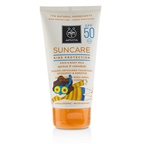 Apivita Suncare Kids Protection Face & Body Milk SPF 50 With Apricot & Calendula