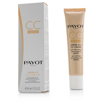 Payot Creme N°2 CC Cream - Anti-Redness Correcting Care SPF50+