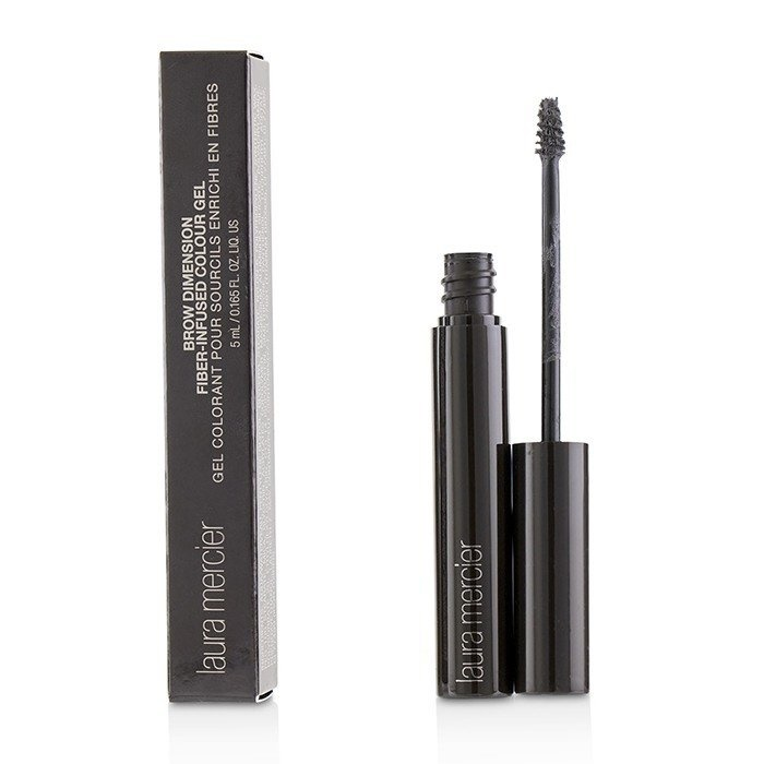 Laura Mercier Brow Dimension Fiber Infused Colour Gel - # Black