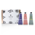 Crabtree & Evelyn Floral Hand Therapy Trio (1x Pear & Pink Magnolia, 1x Rosewater & Pink Peppercorn, 1x Lavender & Espresso)