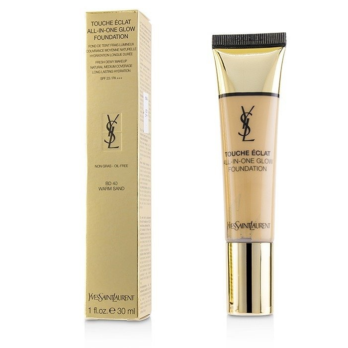 Yves Saint Laurent Touche Eclat All In One Glow Foundation SPF 23 - # BD40 Warm Sand