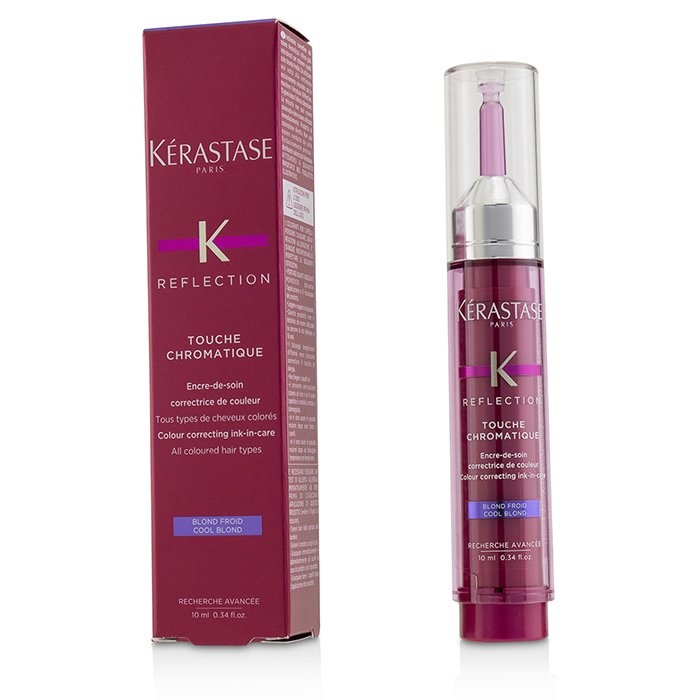 Kerastase Reflection Touche Chromatique Colour Correcting Ink-In-Care - # Cool Blond (All Coloured Hair Types)