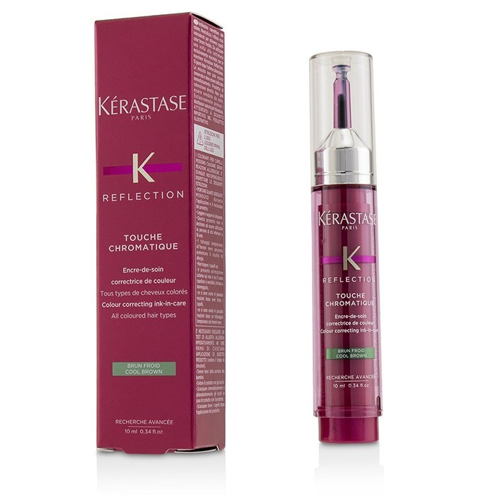 Kerastase Reflection Touche Chromatique Colour Correcting Ink-In-Care - # Cool Brown (All Coloured Hair Types)