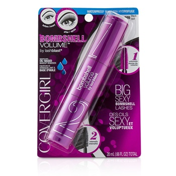 Covergirl Bombshell Volume By Lashblast Waterproof Mascara - # 805 Black
