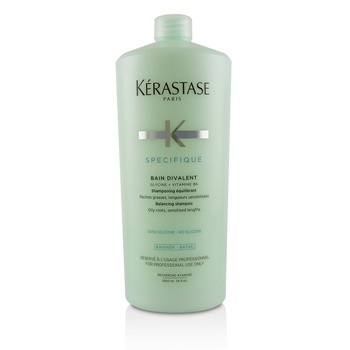 Kerastase Specifique Bain Divalent Balancing Shampoo (Oily Roots, Sensitised Lengths)
