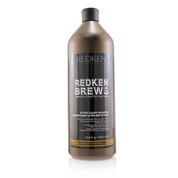 Redken Brews Extra Clean Shampoo (Build-Up Remover For All Hair Types)