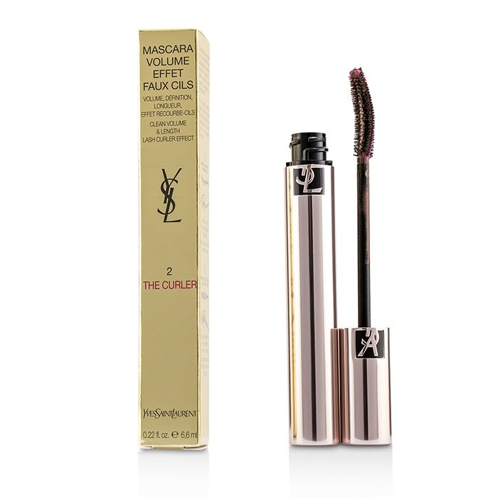 Yves Saint Laurent Volume Effet Faux Cils The Curler Mascara - # 02 Fearless Brown