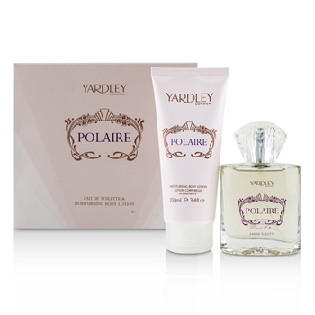Yardley London Polaire Coffret: EDT Spray 50ml/1.7oz + Moisturising Body Lotion 100ml/3.4oz