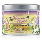 The Candle Company Tin Can 100% Beeswax Candle with Wooden Wick - Havana Nights