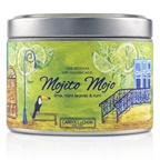 The Candle Company Tin Can 100% Beeswax Candle with Wooden Wick - Mojito Mojo