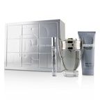Paco Rabanne Invictus Coffret: EDT Spray 100ml/3.4oz + All Over Shampoo 100ml/3.4oz + EDT Spray 10ml/0.34oz
