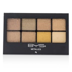 BYS 8 Palette Metallic Eyeshadow - # Metallics Browns