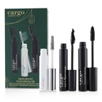 Cargo Mascara Kit: 1x Dare To Flair Mascara, 1x Texalash Mascara, 1x Swimmables Waterproof Mascara Topcoat