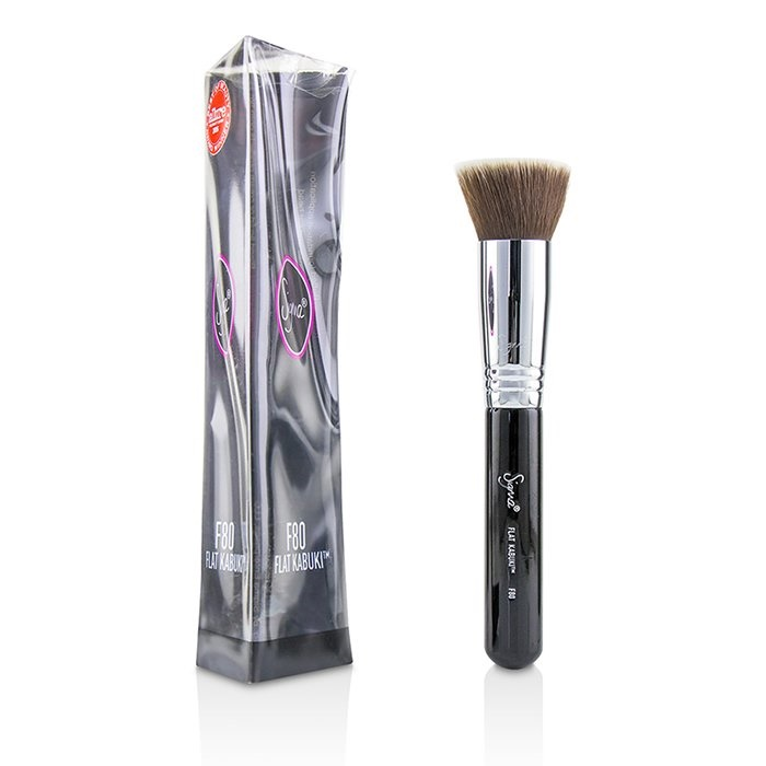 Sigma Beauty F80 Flat Kabuki Brush (Box Slightly Damaged)