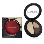 Smashbox Photo Edit Eye Shadow Trio - # Nudie Pic Medium (Hazelnut, Wheat, Cashew Outside