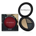 Smashbox Photo Edit Eye Shadow Trio - # Day Rate (Roll Deep, Dime Piece, Gold Hoops)