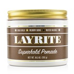 Layrite Superhold Pomade (High Hold, Medium Shine, Water Soluble)