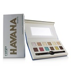 Cargo Havana Nights Eye Shadow Palette (12x Eyeshadow, 1x Dual End Brush)