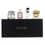 Gucci Gucci Miniature Coffret: Bamboo EDP + Gorgeous Gardenia EDT + Guilty EDT + Bloom EDP