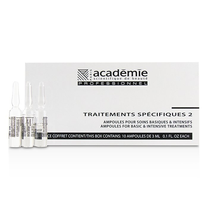 Academie Specific Treatments 2 Ampoules Collagene Marin (Light Yellow) - Salon Product