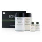 3W Clinic Homme Classic - Moisturizing Freshness Essential Skincare Set: Essential Skin 150ml+30ml + Essential Lotion 150ml+30ml