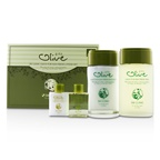3W Clinic Olive For Man Set: 2x Fresh Skin, 2x Fresh Emulsion