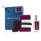 Atelier Cologne Rose Anonyme Coffret: Cologne Absolue Spray 30ml/1oz + Soap 200g/7.05oz + Leather Case for Cologne Absolue Spray 30ml/1oz