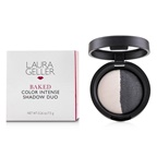 Laura Geller Baked Color Intense Shadow Duo - # Marble/Midnight