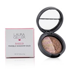 Laura Geller Baked Marble Shadow Duo - # Pink Icing/Devil's Food