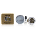 Stila Magnificent Metals Foil Finish Eye Shadow With Mini Stay All Day Liquid Eye Primer - Vintage Black Gold (Box Damaged)