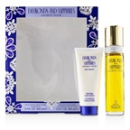 Elizabeth Taylor Diamonds & Sapphires Coffret: EDT Spray 100ml/3.3oz + Perfumed Body Lotion 100ml/3.3oz