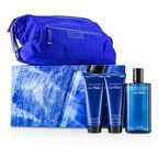 Davidoff Coolwater Coffret: EDT Spray 125ml/4.2oz + After Shave Balm 75ml/2.5oz + Shower Gel 75ml/2.5oz + Navy Toilet Bag