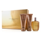 Sean John Unforgivable Coffret: EDP Spray 125ml/4.2oz + Body Lotion 100ml/3.4oz + Bath & Shower Gel 100ml/3.4oz