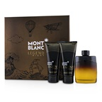 Montblanc Legend Night: EDP Spray 100ml/3.3oz + After-Shave Balm 100ml/3.3oz + All-Over Shower Gel 100ml/3.3oz