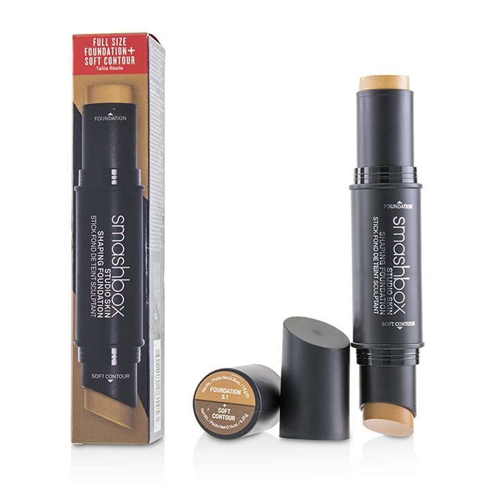 Smashbox Studio Skin Shaping Foundation + Soft Contour Stick - # 3.1 Neutral Medium Beige