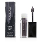 Smashbox Always On Metallic Matte Lipstick - Punked Rock (Gray With Purple Tint & Silver Pearl)