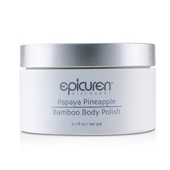 Epicuren Papaya Pineapple Bamboo Body Polish