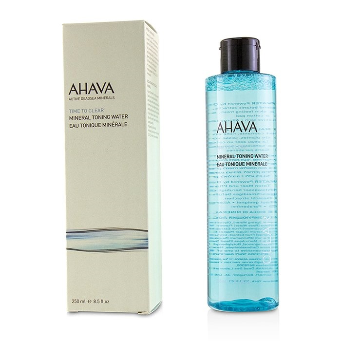 ahava time to clear mineral toning water the beauty club shop