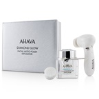 Ahava Diamond Glow Facial Micro-Polish Exfoliator (1x Micro-Exfoliating Cream 50ml, 1x Cleansing Device, 1x Brush Head)