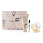 Montblanc Lady Emblem Coffret: EDP Spray 75ml/2.5oz + Perfumed Body Lotion 100ml/3.3oz + EDP Spray 7.5ml/0.25oz
