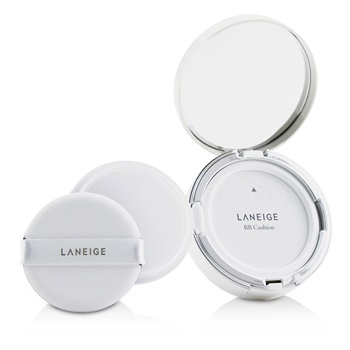 Laneige BB Cushion Foundation (Pore Control) SPF 50 With Extra Refill - # 21 Beige